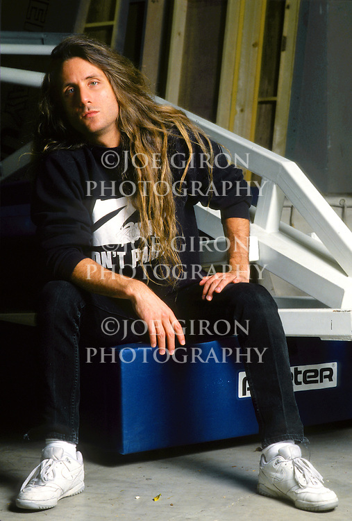Various portraits & live photographs of the rock band, Jackyl.