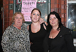 Rita O'Connor, Natasha Smyth and Jackie Lynch at the Tribute to Seamus McCann Music Night in the New Central...Photo NEWSFILE/Jenny Matthews.(Photo credit should read Jenny Matthews/NEWSFILE)....This Picture has been sent you under the condtions enclosed by:.Newsfile Ltd..The Studio,.Millmount Abbey,.Drogheda,.Co Meath..Ireland..Tel: +353(0)41-9871240.Fax: +353(0)41-9871260.GSM: +353(0)86-2500958.email: pictures@newsfile.ie.www.newsfile.ie.FTP: 193.120.102.198.