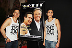 "Actors William DeMeo & Cristian DeMeo in film with John Travolta - Brooklyn, New York celebaates William DeMeo's upcoming role in Gotti film in which he plays Sammy ""The Bull"" Gravano in a block party on May 23, 2018 along with cast.  (Photo by Sue Coflin/Max Photos)"