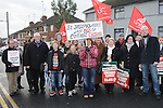 St Joseph's hospital Ardee action group pictured at the march against the closure of the Cottage Hospital. Photo: Colin Bell/pressphotos.ie