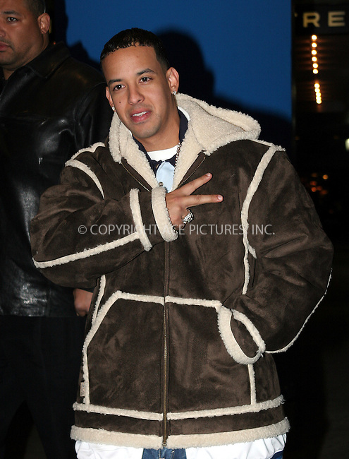 WWW.ACEPIXS.COM . . . . .  ....NEW YORK, DECEMBER 19, 2005....Daddy Yankee leaving after an appearance at TRL.....Please byline: NANCY RIVERA- ACE PICTURES.... *** ***..Ace Pictures, Inc:  ..Craig Ashby (212) 243-8787..e-mail: picturedesk@acepixs.com..web: http://www.acepixs.com