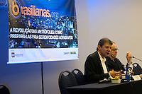 """SÃO PAULO,SP, 07.10.2015 - HADDAD-SP - O prefeito Fernando Haddad durante do 66º Fórum de debates da Brasilianas.org : """"A revolução das metrópoles: como prepara-las para serem agradáveis"""", no Hotel Tryp na região centro sul da cidade de São Paulo nesta quarta-feira 07. (Foto: Gabriel Soares/Brazil Photo Press)"""