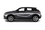 Car Driver side profile view of a 2019 Ds DS-3-Crossback Grand-Chic 5 Door SUV Side View