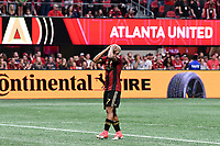 Atlanta, Georgia - Sunday, October 22, 2017. Atlanta United drew, 2-2, with Toronto FC, in front of an MLS single match record crowd of 71,874 at Mercedes Benz Stadium.