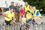 Killorglin Tody towns clean up Library Square after vandals broke flower pots for a second time on Monday evening front row l-r: Donie O'Sullivan, Michelle Carr, Orna Eccles, Brendan Foley. Back row: James Daly, Jack O'Sullivan, mary McGillycuddy, John Healy and Elaine McGillycuddy