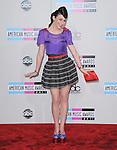 Amy Heidemann of the band Karmin  attends 2011 American Music Awards held at The Nokia Theater Live in Los Angeles, California on November 20,2011                                                                               © 2011 DVS / Hollywood Press Agency