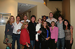 Guiding Light's actors with those involved in GO PINK event at a private dinner on top of Mount Washington, near Pittsburgh, PA on the night before October 1, 2009 in the Pittsburgh, PA area as the actors GO PINK with Panera Bread as they visit many of the Panera Bread locations the next day. Proceeds from pink ribbon bagel sales will benefit the Young Women's Breast Cancer Awareness Foundation. (Photo by Sue Coflin/Max Photos)