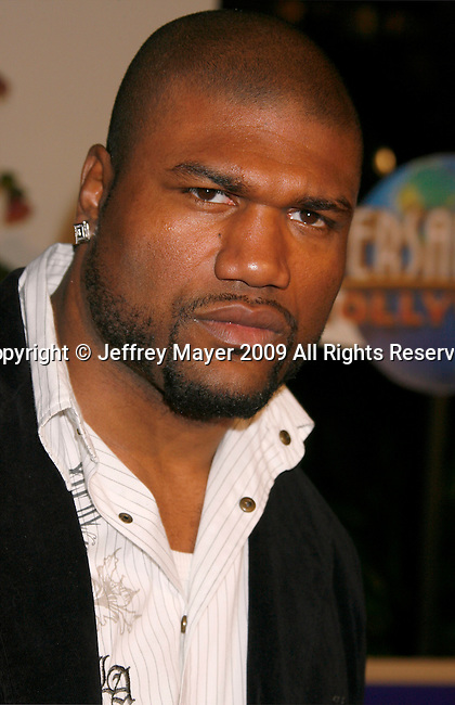 """UNIVERSAL CITY, CA. - March 12: Boxer Rampage Jackson arrives at the Los Angeles premiere of """"Fast & Furious"""" at the Gibson Amphitheatre on March 12, 2009 in Universal City, California."""