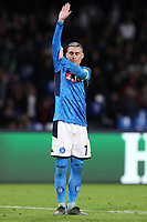 Jose Callejon of Napoli gestures<br /> Napoli 10-12-2019 Stadio San Paolo <br /> Football Champions League 2019/2020 Group E<br /> SSC Napoli - KRC Genk<br /> Photo Cesare Purini / Insidefoto
