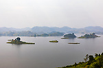 Scenic Of Lake Mutanda And Islands