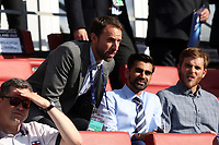 England ,manager Gareth Southgate takes up hi position before Slovakia Under-21 vs England Under-21, UEFA European Under-21 Championship Football at The Kolporter Arena on 19th June 2017