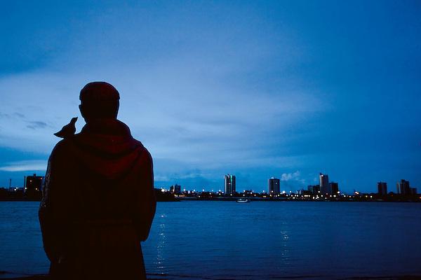 Juazeiro_BA, 11 de Abril de 2010 ..Os Chicos - 2a Viagem..Na foto, o rio Sao Francisco..Foto: LEO DRUMOND / NITRO