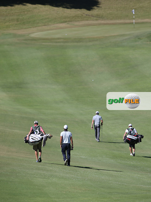 Brett Rumford (AUS) leads the way to the 9th during Round Three of the Africa Open 2015 at the East London Golf Club, East London, Eastern Cape, South Africa. Picture:  David Lloyd / www.golffile.ie. 07/03/2015