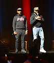 MIAMI, FL - DECEMBER 15: Comedian Karlous Miller and Chico Bean perform on stage during the 85 South improvs roasting and freestyles comedy show at James L. Knight Center on December 15, 2019 in Miami, Florida.  ( Photo by Johnny Louis / jlnphotography.com )