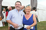 Con and Judy Fitzsimons at the Bellewstown Races...Photo NEWSFILE/Jenny Matthews.(Photo credit should read Jenny Matthews/NEWSFILE)....This Picture has been sent you under the condtions enclosed by:.Newsfile Ltd..The Studio,.Millmount Abbey,.Drogheda,.Co Meath..Ireland..Tel: +353(0)41-9871240.Fax: +353(0)41-9871260.GSM: +353(0)86-2500958.email: pictures@newsfile.ie.www.newsfile.ie.FTP: 193.120.102.198.