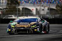 5-8 January, 2017, Daytona Beach, Florida USA<br /> 46, Lamborghini, Lamborghini Huracan GT3, GTD, <br /> &copy;2017, Barry Cantrell<br /> LAT Photo USA