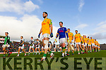 South Kerry and Legion Teams Before the Kerry County Senior Football Final at Fitzgerald Stadium on Sunday.