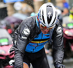Philippe Gilbert (BEL) after crashing on the first of 9 laps of the Harrogate circuit during the Men Elite Road Race of the UCI World Championships 2019 running 261km from Leeds to Harrogate, England. 29th September 2019.<br /> Picture: Eoin Clarke | Cyclefile<br /> <br /> All photos usage must carry mandatory copyright credit (© Cyclefile | Eoin Clarke)