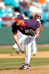 15 March 2006: Travis Hughes, pitcher for the Washington Nationals, on the mound during a Spring Training game against the New York Mets. The Mets defeated the Nationals 8-5 at Space Coast Stadium, in Viera, Florida...Mandatory Photo Credit: Ed Wolfstein..