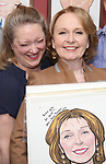 Kristine Nielsen and Kate Burton attend the Sardi's Caricature Unveiling for Kate Burton joining the Legendary Wall of Fame at Sardi's on June 28, 2017 in New York City.
