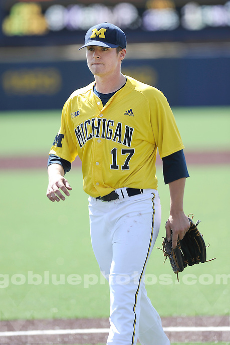 Michigan baseball loses to Nebraska, 3-1, Saturday, April 26, 2014, at Ray Fisher Stadium in the Wilpon Baseball/Softball Complex.