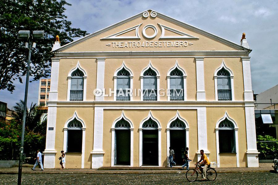 Teatro 4 de Setembro em Teresina. Piauí. 2006. Foto de Ricardo Azoury.