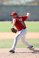 TJ Hose, Arizona Diamondbacks 2010 minor league spring training..Photo by:  Bill Mitchell/Four Seam Images.