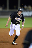 Central Florida Knights infielder Chad Whiteaker (12) during the season opening game against the Siena Saints at Jay Bergman Field on February 14, 2014 in Orlando, Florida.  UCF defeated Siena 8-1.  (Copyright Mike Janes Photography)