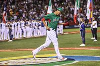 Luis Cruz de Mexico, Cohito Cruz, Aspectos del partido Mexico vs Italia, durante Cl&aacute;sico Mundial de Beisbol en el Estadio de Charros de Jalisco.<br /> Guadalajara Jalisco a 9 Marzo 2017 <br /> Luis Gutierrez/NortePhoto.com