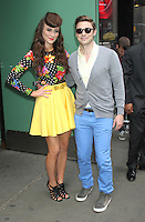 May 08, 2012  Amy Heidemann and Nick Noonan from the band Karmin at Good Morning America to promote their hit song Brokenhearted from the  new CD Hello in New York City. Credit: RW/MediaPUnch Inc.