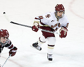 Meagan Mangene (BC - 24) - The Boston College Eagles defeated the Harvard University Crimson 3-1 to win the 2011 Beanpot championship on Tuesday, February 15, 2011, at Conte Forum in Chestnut Hill, Massachusetts.