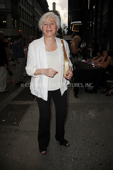 """WWW.ACEPIXS.COM . . . . . ....July 27 2009, New York City....Olympia Dukakis arriving at The Cinema Society & Brooks Brothers screening of """"Adam"""" at AMC Loews 19th Street on July 28, 2009 in New York City.....Please byline: KRISTIN CALLAHAN - ACEPIXS.COM.. . . . . . ..Ace Pictures, Inc:  ..tel: (212) 243 8787 or (646) 769 0430..e-mail: info@acepixs.com..web: http://www.acepixs.com"""