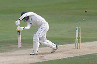 Will Fraine of Yorkshire is bowled out by Peter Siddle during Essex CCC vs Yorkshire CCC, Specsavers County Championship Division 1 Cricket at The Cloudfm County Ground on 8th July 2019