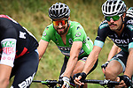 The peloton including Green Jersey Peter Sagan (SVK) Bora-Hansgrohe in action during Stage 15 of the 2018 Tour de France running 218km from Carcassonne to Bagneres-de-Luchon, France. 24th July 2018. <br /> Picture: ASO/Pauline Ballet | Cyclefile<br /> All photos usage must carry mandatory copyright credit (© Cyclefile | ASO/Pauline Ballet)