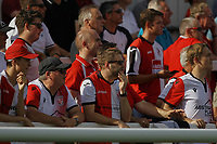 Woking fans enjoy the games during Woking vs Solihull Moors, Vanarama National League Football at The Laithwaite Community Stadium on 24th August 2019