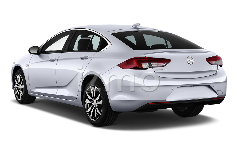 Car pictures of rear three quarter view of 2017 Opel Insignia Grand Sport Dynamic 5 Door Hatchback angular rear