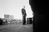 London, Kentucky.November 1, 2003.U.S. President George W. Bush addresses a crowd of supporters..