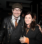 Terry Kinney & Mare Winningham attending the Opening Celebration for 'Checkers' at the Vineyard Theatre in New York City on 11/11/2012