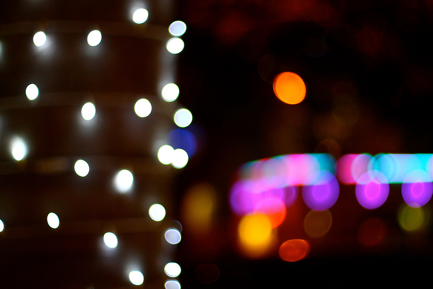 different takes on lights at night