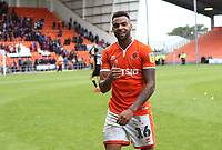 Blackpool's Curtis Tilt at the end of todays match<br /> <br /> Photographer Rachel Holborn/CameraSport<br /> <br /> The EFL Sky Bet League One - Blackpool v Bradford City - Saturday September 8th 2018 - Bloomfield Road - Blackpool<br /> <br /> World Copyright &copy; 2018 CameraSport. All rights reserved. 43 Linden Ave. Countesthorpe. Leicester. England. LE8 5PG - Tel: +44 (0) 116 277 4147 - admin@camerasport.com - www.camerasport.com