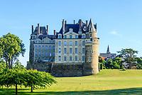 France, Maine-et-Loire (49), Brissac-Quincé, château de Brissac,