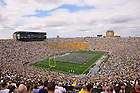 Notre Dame Stadium, 2005 MSU game.<br /> <br /> Photo by Matt Cashore/University of Notre Dame