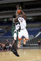 SAN ANTONIO, TX - NOVEMBER 12, 2006: The University of Texas Pan American Broncos vs. The University of Texas at San Antonio Roadrunners Men's Basketball at the Alamodome. (Photo by Jeff Huehn)