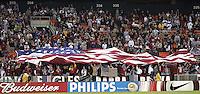 USA fans, Panama vs USA, World Cup qualifier at RFK Stadium, 2004.