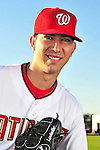 28 February 2010: Washington Nationals pitcher Rafael Martin poses for his Spring Training photo at Space Coast Stadium in Viera, Florida. Mandatory Credit: Ed Wolfstein Photo
