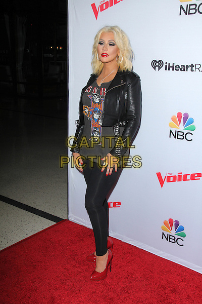 Christina Aguilera Attending &igrave;The Voice&icirc; Spring Break Concert At The Pacific Design Center on April 23, 2015 in West Hollywood, California. <br /> CAP/MPI/DC/DE<br /> &copy;DE/DC/MPI/Capital Pictures