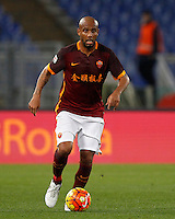 Calcio, Serie A: Roma vs Sampdoria. Roma, stadio Olimpico, 7 febbraio 2016.<br /> Roma&rsquo;s Maicon in action during the Italian Serie A football match between Roma and Sampdoria at Rome's Olympic stadium, 7 January 2016.<br /> UPDATE IMAGES PRESS/Riccardo De Luca