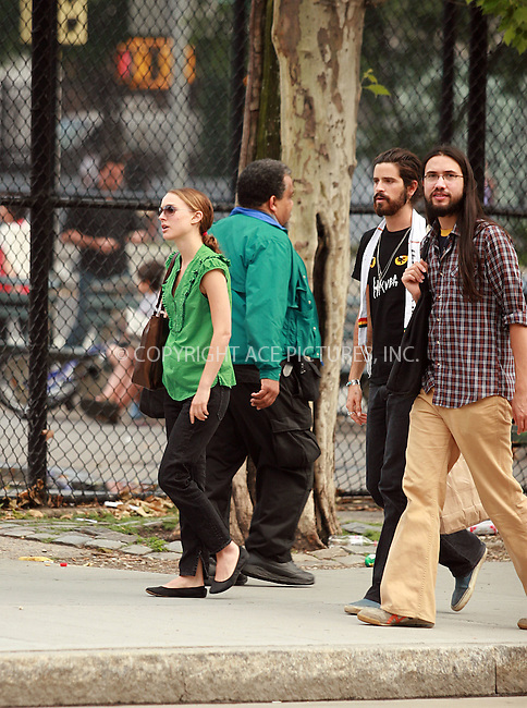 WWW.ACEPIXS.COM . . . . .  ....June 5 2008, New York City....Actress Natalie Portman was spotted walking with her boyfriend Devendra Banhart (C) and a friend in Soho.....Please byline: NANCY RIVERA- ACE PICTURES.... *** ***..Ace Pictures, Inc:  ..tel: (646) 769 0430..e-mail: info@acepixs.com..web: http://www.acepixs.com