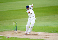 PICTURE BY VAUGHN RIDLEY/SWPIX.COM - Cricket - County Championship Div 2 - Yorkshire v Kent, Day 3 - Headingley, Leeds, England - 07/04/12 - Yorkshire's Joe Root hits out.