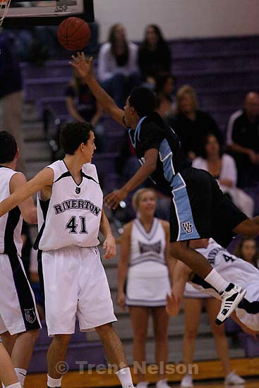 Riverton - - Riverton vs. West Jordan boys high school basketball. , Friday, January 23, 2009.; 01.23.2009.